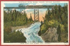 Soo Ontario Postcard River Falls Algoma Central RR BJs - $6.00