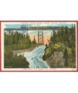 Soo Ontario Postcard River Falls Algoma Central... - $6.00