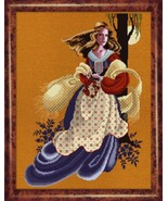 Evangeline cross stitch Lavendar & Lace Marilyn Leavitt-Imblum - $14.40
