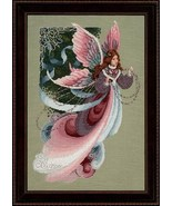 Fairy Dreams cross stitch Lavendar & Lace Marilyn Leavitt-Imblum - $12.60
