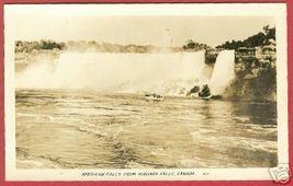 Niagara Falls Canada Ship American Falls RPPC BJs - $6.00