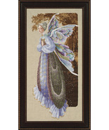 Fairy Grandmother cross stitch Lavendar & Lace Marilyn Leavitt-Imblum - $12.60