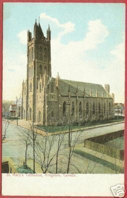 KINGSTON ONTARIO St Mary's Cathedral Canada BJs