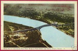 PT EDWARD SARNIA ONTARIO Blue Water Bridge Pt Huron MI - $7.00