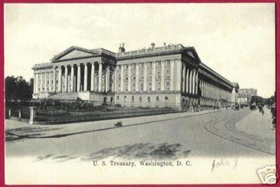WASHINGTON DC US Treasury Bldg UDB Germany