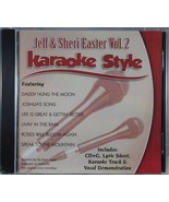 Jeff & Sheri Easter Volume 2 Christian Karaoke Style NEW CD+G Daywind 6 ... - $15.76