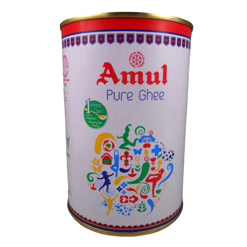 Primary image for Amul PURE Ghee 1kg / 2.2lb / 33.8FL oz. Cooking Oil Healthy  USA SELLER