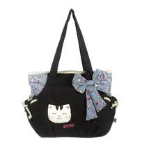 [Sweet Cat] Cotton Canvas Shoulder Bag Swingpack Travel Bag - $30.99