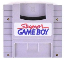 Super Gameboy SNES Console Adapter Play On Super Nintendo Tested & Works - $13.85