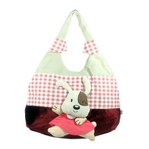 [Naughty Rabbit] Cotton Canvas Shoulder Bag Swingpack - $28.99