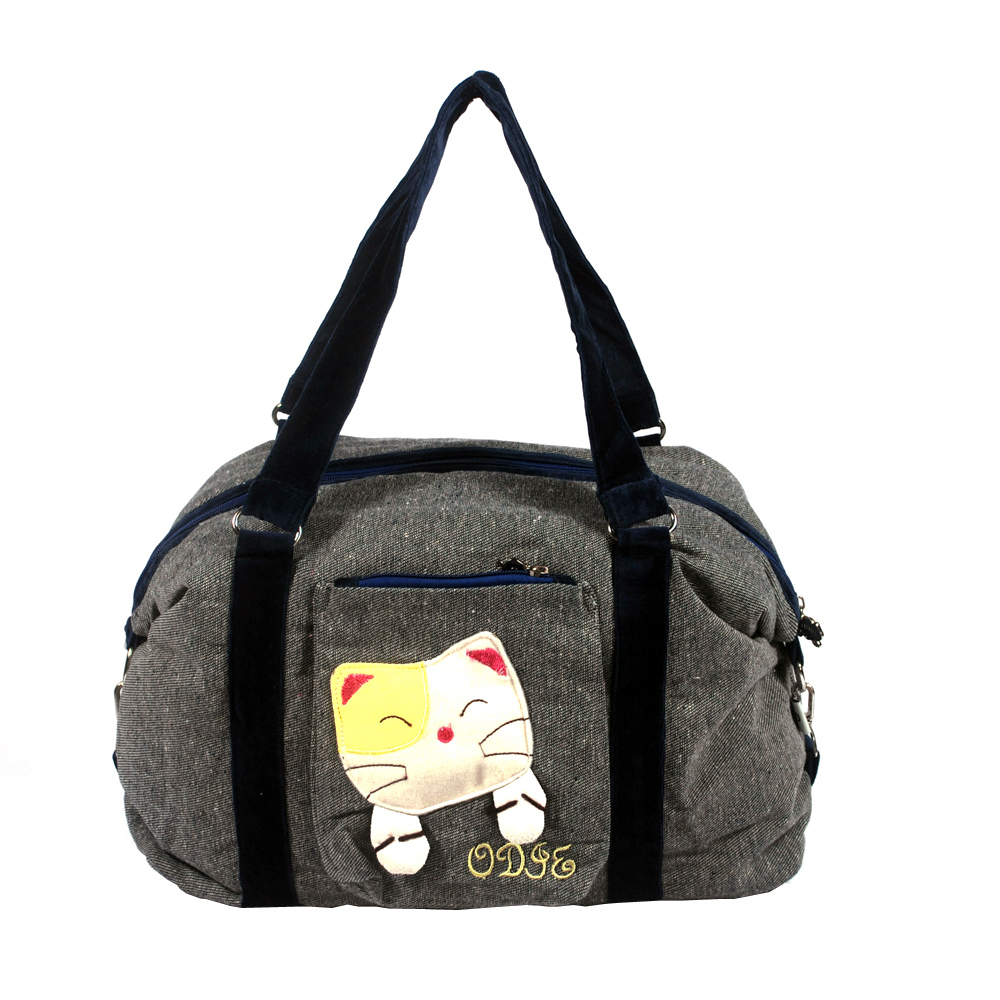 Primary image for [Sweet Mio Mio] Cotton Canvas Shoulder Bag Swingpack