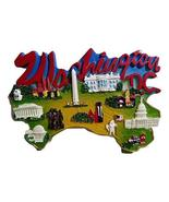 Puzzle Shaped Washington DC Monuments with Smithsonian Museums, DC Attra... - $7.99