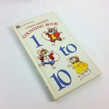 Cyndy Szekeres Counting Book 1984 Childrens Vintage Golden Sturdy Thin B... - $16.99