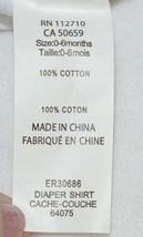 Ganz Ella Jackson Tie Suspenders Diaper Shirt Size 0 to 6 Months image 7