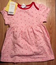 NWT Girl's Size 6-9-12 M Months Two Pc Gymboree Pink Heart Designed Dres... - $18.00