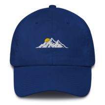 MOUNTAINS HAT / MOUNTAINS EMBROIDERED HAT / MOUNTAINS EMBROIDERED CAP / COTTON C image 2