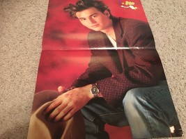 Johnny Depp  teen magazine poster clipping looks tired holding a cowboy hat