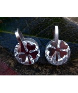 Voodoo Belle EXTRA lucky 4 leaf clover earrings XXX - $33.33