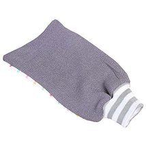 Stripe Design Exfoliating Mitts Shower Bath Body Scrubber Loofah Mitt Gl... - $9.56