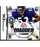 Madden NFL 2005 - Nintendo DS [Nintendo DS] - $9.95