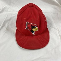 Vtg Arizona Cardinals New Era 59fifty Football Fitted Hat Size 7 1/2 chrome red - $13.37