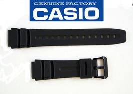 Genuine Casio Watch Band  19mm Black  DW-290 AD-300 AW-42 AW-506 DW-280 ... - $12.11