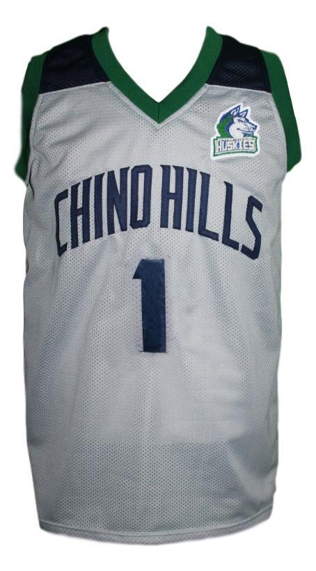 Lamelo ball  1 chino hills huskies basketball jersey grey   1