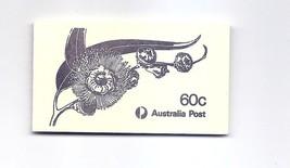 AUSTRALIA  1982 Eucalypts flowers Booklet Scott 852b SG SB52 870a - $1.19