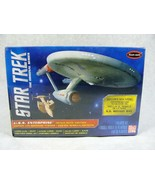 POLAR LIGHTS STAR TREK U.S.S. ENTERPRISE ORIGINAL SPACE SEED MODEL KIT NEW! - $34.64