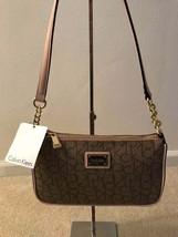 Calvin Klein Women's Purse/Bag/Sachel - Almd/Khk/Camel H4DHJ2QM Msrp $118 - $70.13