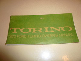 1973 Ford Torino Owner's Manual Vintage - Glove Box - $8.79