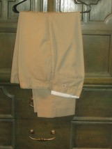 DICKIES 36 LONG BEACH UNIFORM adult uniform pants beige (clst 25) - $14.03