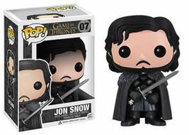 Funko Pop Jeu des Trônes Jon Snow Nuits Montre Pipit Figurine en Vinyle ... - $15.81