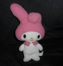 "10"" 2011 Sanrio My Melody Hello Kitty Pink & White Soft Stuffed Animal Plush Toy - $18.70"