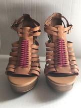 Gianni Bini Open Toe High Heel Shoes Size 6 1/2 M  - $14.84