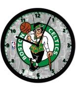"Boston Celtics LOGO Homemade 8"" NBA Wall Clock w/ Battery Included - $23.97"