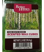 Scented Wax Melts 6 ct Pure White Woods NEW Better Homes & Gardens - $6.22