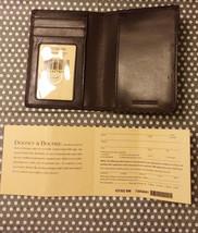 NEW Dooney & Bourke Brown US PASSPORT Leather W... - $39.26