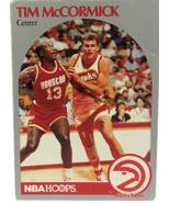 1990 NBA Properties NBA Hoops Atlanta Hawks Tim McCormick Center  - $1.53