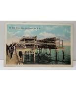 Atlantic City NJ, Net Haul Million Dollar Pier Postcard C21 - $6.95