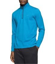 Calvin Klein Men's Quarter-Zip Heathered Long-Sleeve Sweater, Size XXL, MSRP $69 - $34.64