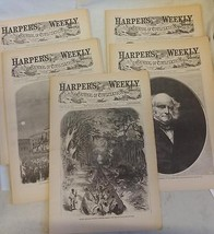 5 Issues August 2 9 16 23 30 1862 Harpers Weekly ReIssue Historic Newspapers