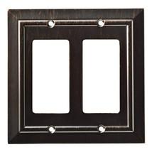 Franklin Brass W35224-VBR-C Classic Architecture Double Decorator Wall P... - $24.52