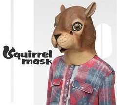Squirrel Head Halloween Mask Rubber Animal Creature Costume by Accoutrem... - $24.94
