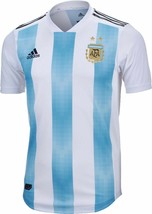 Adidas Argentina Home Soccer Jersey World Cup Russia 2018 Size S - $89.09