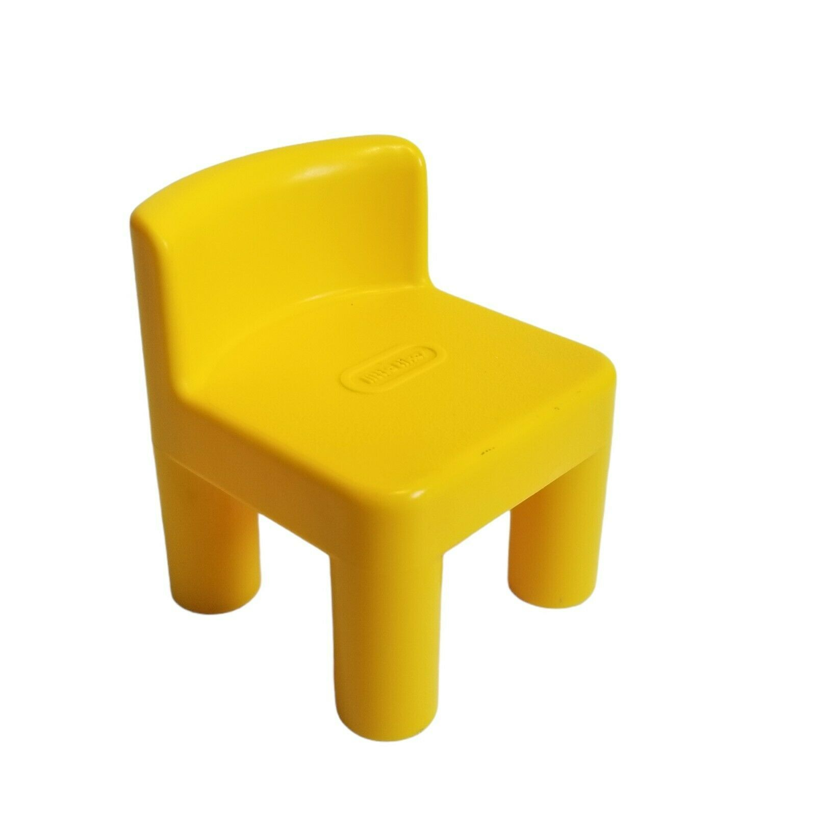 """Vintage Little Tikes Dollhouse Yellow Desk Chair for 6"""" Doll accessories  - $8.99"""