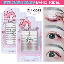 480Pcs/240Pairs Invisible Double Side Sticky Eyelid Tapes Stickers, Medi... - $13.36