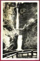 OREGON COLUMBIA RIVER Hwy Muhnomah Falls RPPC OR - $10.00