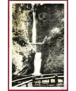 OREGON COLUMBIA RIVER Hwy Muhnomah Falls RPPC OR - $10.00