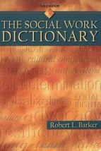 The Social Work Dictionary, 5th Edition Robert L. Barker - $8.50